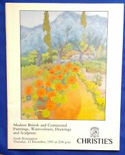 Christie's - Modern British, Continental Paintings, W/C,Drawings & Sculpture1991