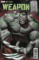 Weapon H Comic 1 Cover C Homage Hulk Variant Dale Keown First Print Greg Pak