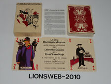 Französische Spielkarten Correspondances - Grimaud - France 1985
