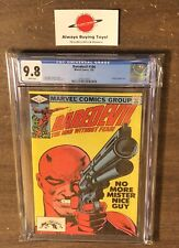 Daredevil #184 CGC 9.8 Classic Frank Miller Cover Marvel 1982 Punisher App