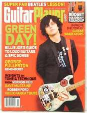 GUITAR PLAYER MAGAZINE GREEN DAY BILLIE JOE ARMSTRONG VERNON REID DAVE MUSTAINE