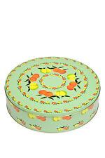 "Italian gift tin / storage food container - ""Agrumi"" (Citrus) (small)"