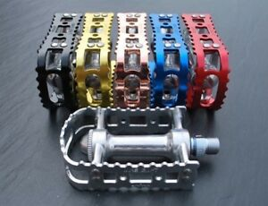 MKS BM-7 Retro Style Bike / Cycle Pedals ideal for Road and MTB - Colour Options