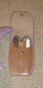 Vintage WISS Manicure Set, Scissors, Stainless Fingernail File & Cuticle Pusher