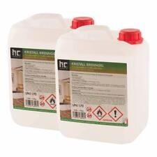10 Liter (2 x 5 L) Kristall Brenngel Kamingel für Gelkamin Ethanol