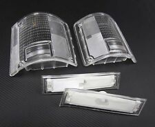81-87 Chevy Clear Tail Lights & Side Markers K10 K20 K30 Suburban R/V 2500 3500