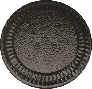 """NEW IMPERIAL BM0026 ADJUSTABLE BLACK 4"""" - 8"""" STOVE PIPE FLUE HOLE COVER 6719900"""