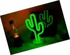 Catcus Led Neon Signs Neon Light Sign Home Beer Bar Neon Table Lamp, Neon Roo.