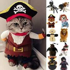 Halloween Pet Puppy Clothes Cute Dog Cat Party Cosplay Funny Fancy Costume Hot