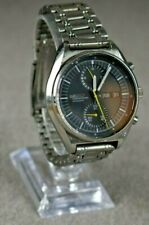 Seiko 21J SS Automatic Chronograph 6138-3009 Watch Original Bracelet Runs Jumbo