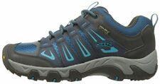 KEEN Women's Oakridge Waterproof Hiking Shoe Raven Seaport Size 5 M US