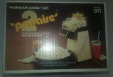 Hamilton Beach Vintage Popaire 2 Hot Air Electric Popcorn Popper - New Sealed