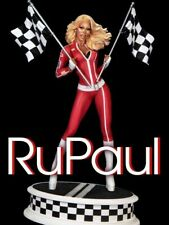 Tweeterhead RuPaul Drag Race with Flags Maquette Exclusive Statue Autographed