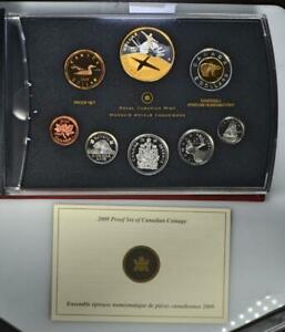 2010 PROOF DOUBLE DOLLAR SET - CANADIAN 8-COIN SET - 100 YEARS OF CANADA'S NAVY