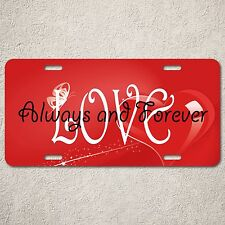 LP0047 Always and Forever Love Sign Rust Vintage Auto License Plate Home Decor