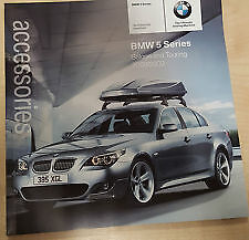 BMW E60 ACCESSORY BROCHURE, VERY LAST FEW REMAINING
