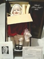 "VINTAGE ASHTON DRAKE ""JENNIFER"" PICTURE PERFECT BABIES-BELLO WINTER BABY"