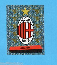 PANINI CALCIATORI 2000/2001- Figurina n.217- MILAN - SCUDETTO/BADGE -NEW