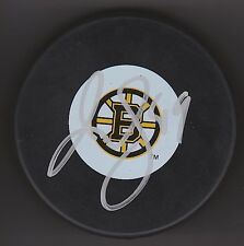 RICH PEVERLEY Signed BOSTON BRUINS 2011 CUP PUCK w/COA #2