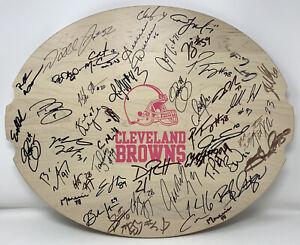 Cleveland Browns 2011 Team Signed Longaberger Breast Cancer NFL Auction Basket