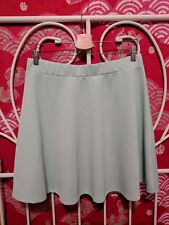 Lot of 2: Forever 21+ Plus/ Hiatus brand Mint Green/ Teal Skater Skirts, Sz XL/M