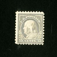 US Stamps # 437 F-VF Disturbed OG Hinged Catalog Value $110.00