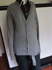GAS Man Silver Grey Nill Cardigan Size Large BNWT RRP €109
