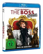 The Boss - Dick im Geschäft - Melissa McCarthy - (EXTENDED EDITION) - Blu Ray