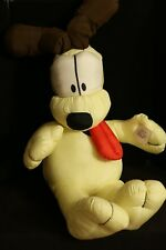 "Garfield ODIE Giant HUGE 30"" Plush Toy Doll Jumbo Spencer Gifts 1990 NWT"
