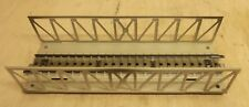 Märklin H0 7162 (466) Ponte Del Reticolo Dritto Pista 18 cm come Nuovo