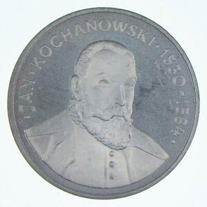 SILVER - WORLD Coin - 1980 Poland 100 Zlotych - World Silver Coin *710