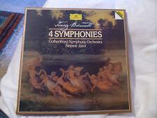 BERWALD - 4 SYMPHONIES, GOTHENBURG S.O.DIGITAL RECORDING DGG 415 502-1. 2 LP BOX