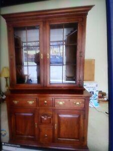 Bob Timberlake   China Salem Hutch Lexington Furniture Fred Carver Stain Rare