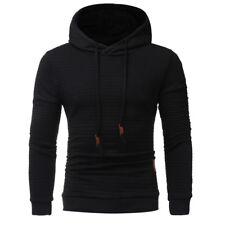 Men's Warm Jacket Outwear Jumper Hoodies Coat Sweater Hooded Pullover Sweatshirt