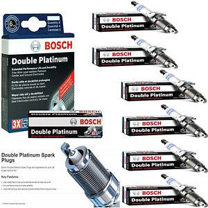 6Pcs OE Double Platinum Spark Plug 8116 For 2009-2010 VOLKSWAGEN ROUTAN V6-3.8L