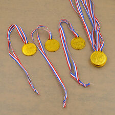 24pcs Children Plastic Gold Medals Winners Medals Party Game Prize Awards Toy
