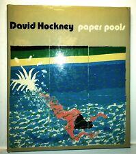 Paper Pools, David Hockney, 1980, Harry Abrams - Rare