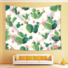 Cactus flower Tapestry Wall Hanging for Living Room Bedroom Dorm Decor