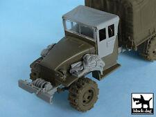 US 1 1/2 ton Cargo Truck accessories set for Tamiya 32548,T48048,BLACK DOG,1:48