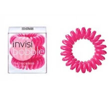 Invisibobble Traceless Hair Rings X3 Candy Pink