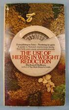 The Use Of Herbs In Weight Reduction Vintage Book 1975 Richard Heffern NY (O)