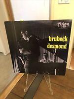 The Dave Brubeck Quartet  (Victor (Fantasy 3-229) VIJ 4038) - Japan Pressing