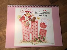 Custom Strawberry Shortcake printed Wall calendar 2021