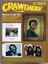 Original Vintage January 1973 Crawdaddy Magazine Bill Withers (cover detached)