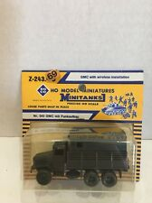 Z-243.69 Roco Minitanks HO Scale Model GMC Commo Truck