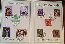 Rarität Vatican City Stamps 17.02.1972  Savelli  Top Zustand  Klapp Karte