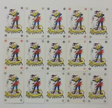 LOT OF 15 DIFFERENT JOKERS PLAYING CARDS -MCJ-18 k131