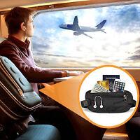 Hidden Security Money Passport Card Ticket Waist Belt Bag Pocket Travel Wallet