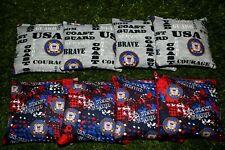Cornhole Bean Bags Set of 8 Aca Regulation Bags Us Coast Guard