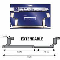 Over The Door Tea Hand Towel Kitchen Cabinet Stainless Steel Bar Hanger Rail